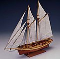1/80 Carmen Double-Masted Spanish 1850 Sailing Ship w/plank-on frame (Intermediate)