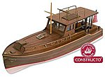 1/27 Pilar Hemingways Fishing Boat w/plank-on frame (Advanced)