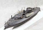 USS Keokuk Union Ironclad Warship (19-1/2''L) -- Plastic Model Military Ship Kit -- 1/96 -- #96001