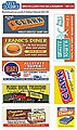 Billboards Miscellaneous Signs -- HO Scale Model Railroad Sign -- #50111