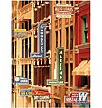 Unpainted Storefront Sign Kit (72 Pack) -- HO Scale Model Train Building Accessory -- #850