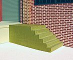 Concrete Dock Steps 2/ - HO-Scale (2)