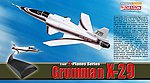 Grumman X-29 -- Diecast Model Airplane -- 1/144 Scale -- #51024