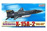 North American X-15A-2 -- Diecast Model Airplane -- 1/144 Scale -- #51036
