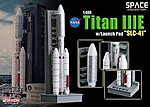 TITAN IIIE with Launch Pad SLC-41 -- Diecast Model Spacecraft -- 1/400 scale -- #56342