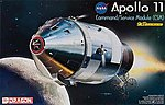Apollo 11 Command/Service Module -- Space Program -- Plastic Model Kit -- 1/48 Scale -- #11007