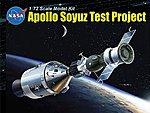 Apollo 18 + Soyuz 19 -- Space Program -- Plastic Model Kit -- 1/72 Scale -- #11012