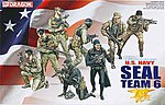 USN SEAL Team 6 (8) -- Plastic Model Military Figure -- 1/35 Scale -- #3028