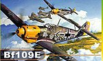Bf109E4 Fighter -- Plastic Model Airplane Kit -- 1/32 Scale -- #3204