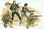MACV-SOG -- Plastic Model Military Figure Kit -- 1/35 Scale -- #3306