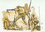 US Marines Khe Sanh '68 -- Plastic Model Military Figure -- 1/35 Scale -- #3307
