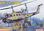 UH-1H HEER Helicopter -- Plastic Model Helicopter Kit -- 1/35 Scale -- #3542