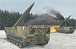M752 Lance Self-Propelled Missile Launcher -- Plastic Model Military Vehicle Kit -- 1/35 -- #3576