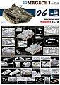 IDF Magach 3 with ERA -- Plastic Model Military Vehicle Kit -- 1/35 Scale -- #3578