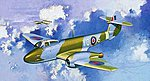Gloster Meteor F1 RAF Aircraft -- Plastic Model Airplane Kit -- 1/72 Scale -- #5084