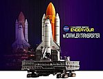 1/400 NASA- Space Shuttle Endeavour w/Crawler Transporter (Assembled Die Cast)