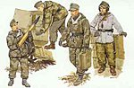 German Self-Propelled Gun Crew (Re-Issue) -- Plastic Model Military Figure -- 1/35 Scale -- #6016
