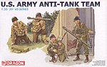 US Army Anti-Tank Team -- Plastic Model Military Figure Kit -- 1/35 Scale -- #6149
