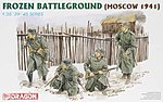 Frozen Battleground Moscow 1941 -- Plastic Model Military Figure Kit -- 1/35 Scale -- #6190