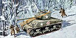 M4A3(76)W VVSS Sherman -- Plastic Model Military Tank Kit -- 1/35 Scale -- #6255