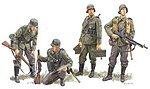 German Regiment France 1940 (4) -- Plastic Model Military Figure Kit -- 1/35 Scale -- #6281