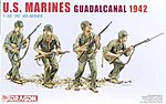 USMC Guadacanal 1942 (4) -- Plastic Model Military Figure -- 1/35 Scale -- #6379