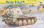 Marder III Ausf.M Initial Production -- Plastic Model Tank Kit -- 1/35 Scale -- #6464