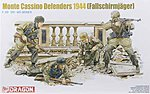 Monte Cassino Defenders 1944 Fallschirmjager -- Plastic Model Military Figure -- 1/35 Scale -- #6514