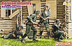 German Infantry Barbarossa 1941 -- Plastic Model Military Figure -- 1/35 Scale -- #6580
