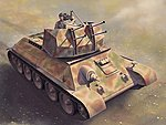 Flakpanzer T-34r Smart Kit -- 1/35 Scale Plastic Model Military Vehicle -- #6599