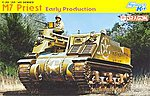 M7 Priest Early Production Smart Kit -- Plastic Model Tank Kit -- 1/35 Scale -- #6627