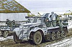 5cm PaK 38 auf Zugkrafteagen 1t -- Plastic Model Halftrack Kit -- 1/35 Scale -- #6719