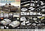 Concrete Armored StuG.III Ausf.G w/Zimmerit -- Plastic Model Military Vehicle Kit -- 1/35 -- #6891