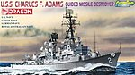 USS Charles F Adams DDG-2 -- Plastic Model Destroyer Kit -- 1/700 Scale -- #7059
