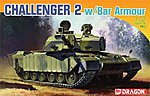 British Challenger 2 w/Bar Armor -- Plastic Model Tank Kit -- 1/72 Scale -- #7287