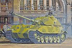 VK.45.02 (P)H -- Plastic Model Tank Kit -- 1/72 Scale -- #7493
