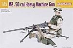 M2 .50cal Browning Machine Gun and Tripod -- Plastic Model Military Vehicle Kit -- 1/6 -- #75012