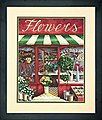 The Flower Shop -- Paint By Number Kit -- #73-91442