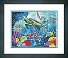 Sea Turtles -- Paint By Number Kit -- #73-91454