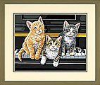 Musical Trio (Cats/Piano) -- Paint By Number Kit -- #91144