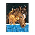 Pony & Kitten -- Paint By Number Kit -- #91305