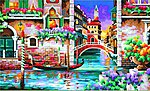 Isn't it Romantic (Venice, Italy) -- Paint By Number Kit -- #91493