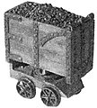 Mine Car Kit 18'' Gauge -- HO Scale Model Train Freight Car -- #43