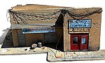 1/35 Shorted Out in Iraq Ruined Building w/Sidewalks & Rubble (8''x10'')