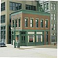 Carol's Corner Cafe Kit (4-1/4 x 2-3/4'') -- HO Scale Model Railroad Building -- #11300