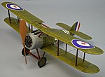18'' Wingspan Sopwith Snipe Rubber Pwd Aircraft Laser Cut Kit