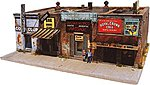 Addams Ave. Part Two Kit -- HO Scale Model Railroad Building -- #1002