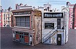 Blair Avenue Part One Cast Hydrocal & Plastic Kit -- HO Scale Model Railroad Building -- #1005