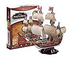 Mayflower 3D Puzzle 111pcs -- 3D Jigsaw Puzzle -- #cf4009h