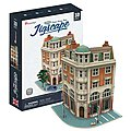 JigScape HO 3D Corner Savings Bank 94pcs -- 3D Jigsaw Puzzle -- #ho4102h